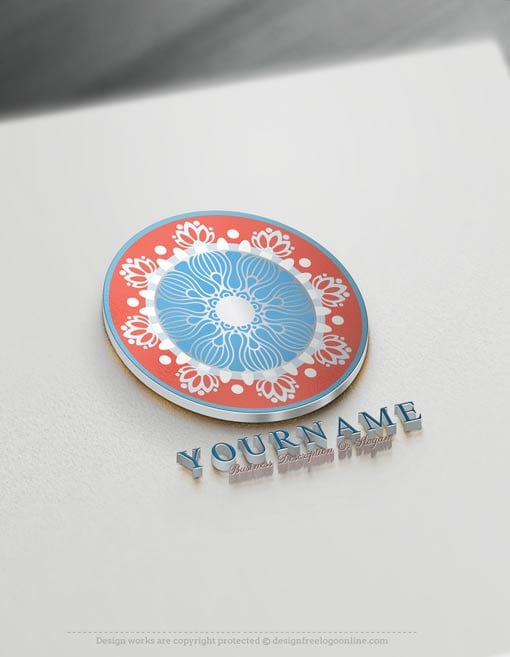 Mandala Logo Design Free Mandala Pattern Logo Maker