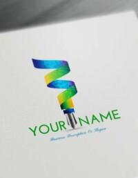 3D Fountain Pen Logo Design Maker - Free Logo Maker Online