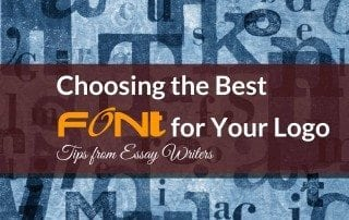 Choosing the Best Font for Your Logo Tips from Essay Writers