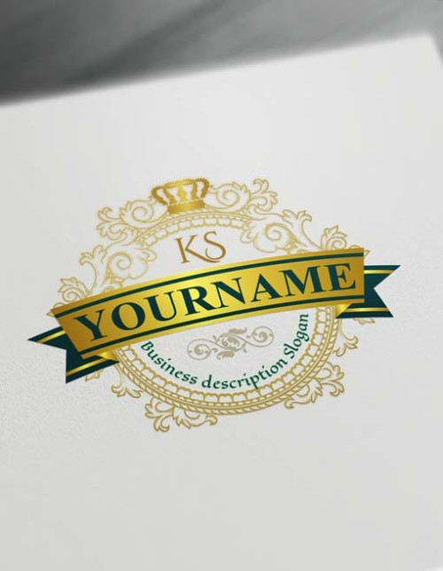 Luxurious Logo Design Free Vintage Logo Maker