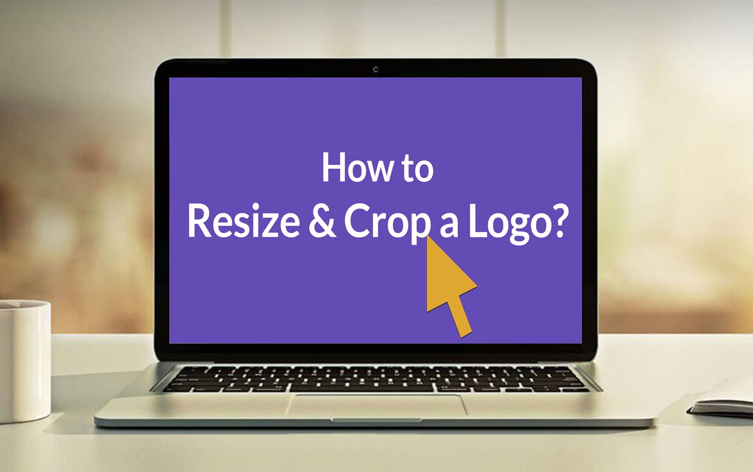 Step by step guide to Resize and Crop your Logo