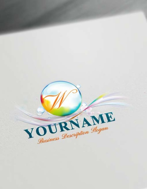 Path Flowing Logo Design Free 3D Logo Maker