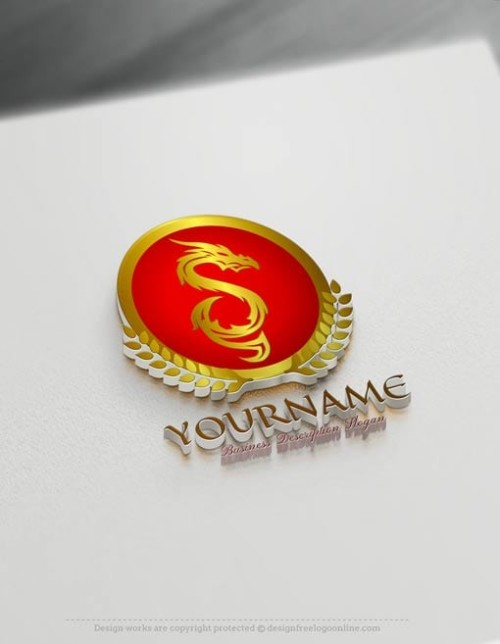Free Dragon Logo Maker - Create Your Own Fire Dragon Logo