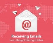 Receiving Emails from DesignFreeLogoOnline