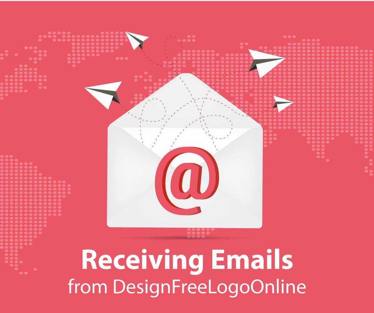 Receiving Emails from DesignFreeLogoOnline