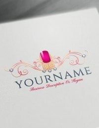 free logo maker online makeup artist logo design