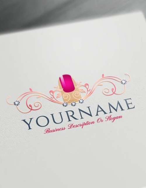 Design free fashion logos and beauty logo designs for Draw your own logo free