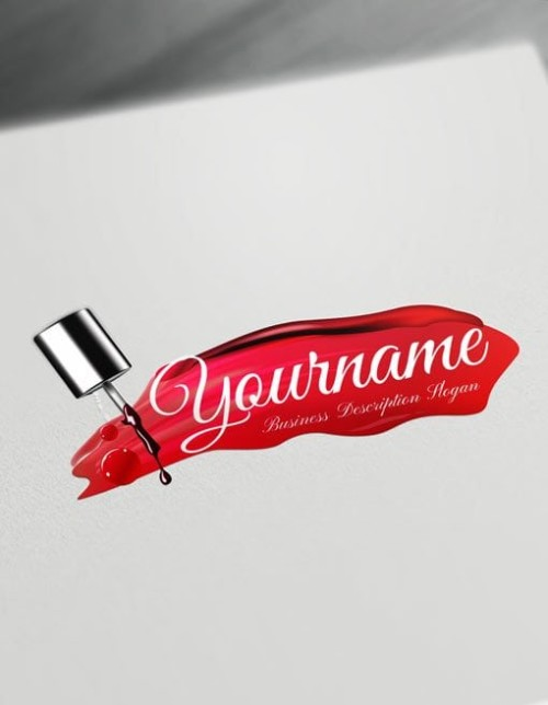 Create Your Own nail artist Logo Free with nails Logo maker