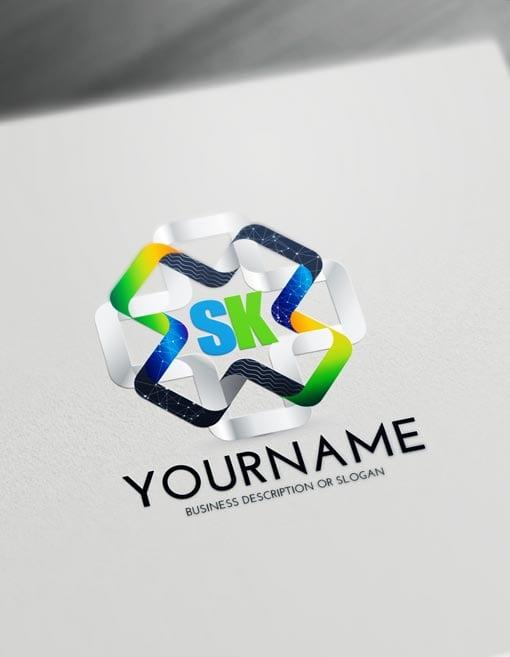 Modern 3D Logo Creator