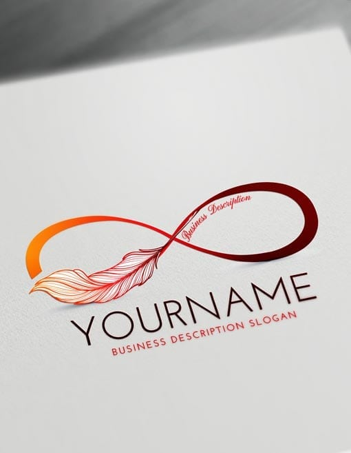Free infinity logo creator make online infinity symbol for Design online
