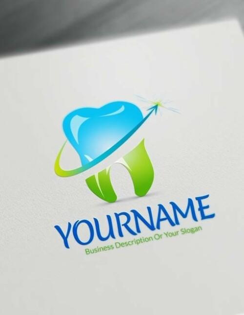 Make classic Dental Logo Online - Free Dentistry Logo Creator
