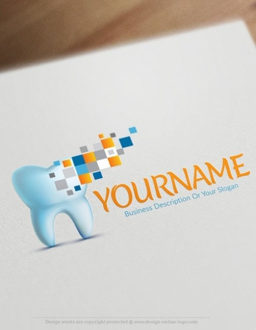 Make Modern Dentistry Logo Online - Free Dentist Logo Creator