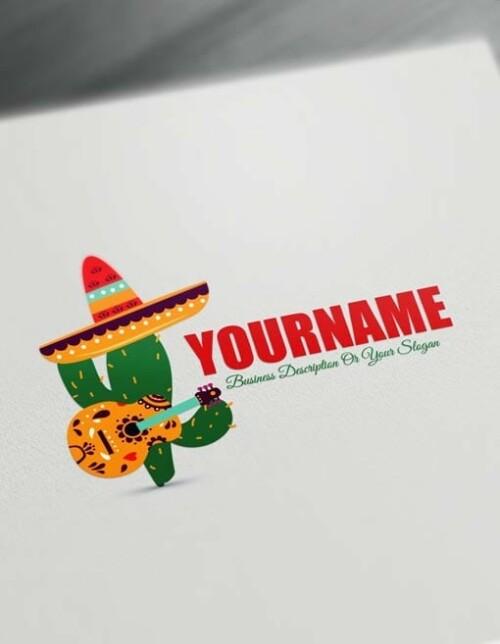 Mexico Design Free Logo Online Mexican Logo maker