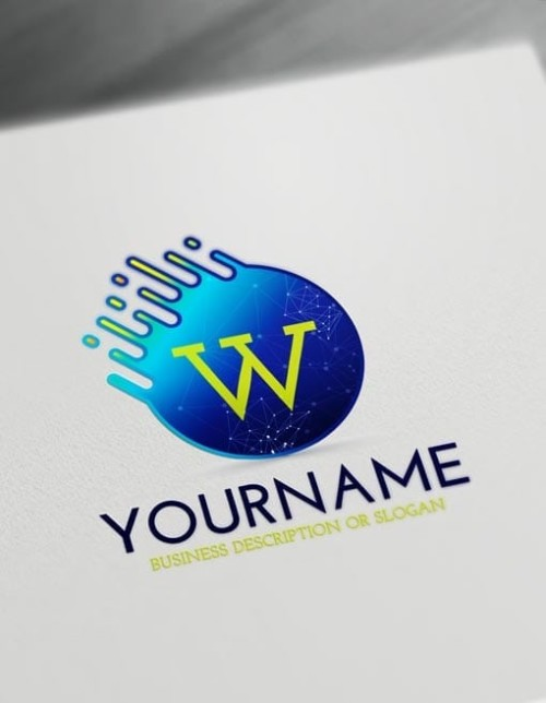 Free Letters Logo Maker - Modern Digital Logo Creator
