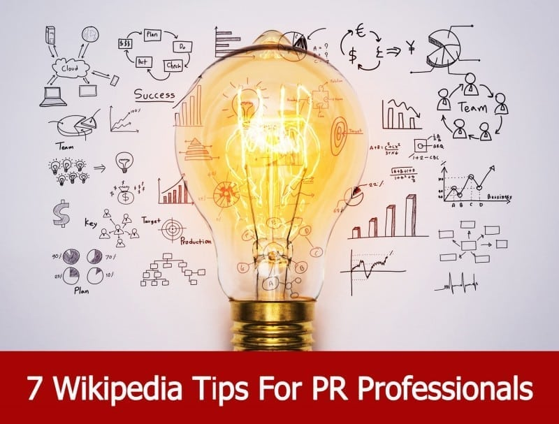 7 Wikipedia Tips For PR Professionals