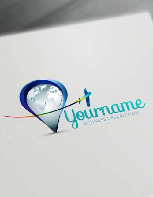 Get your new Travel agents Logo Design instantly