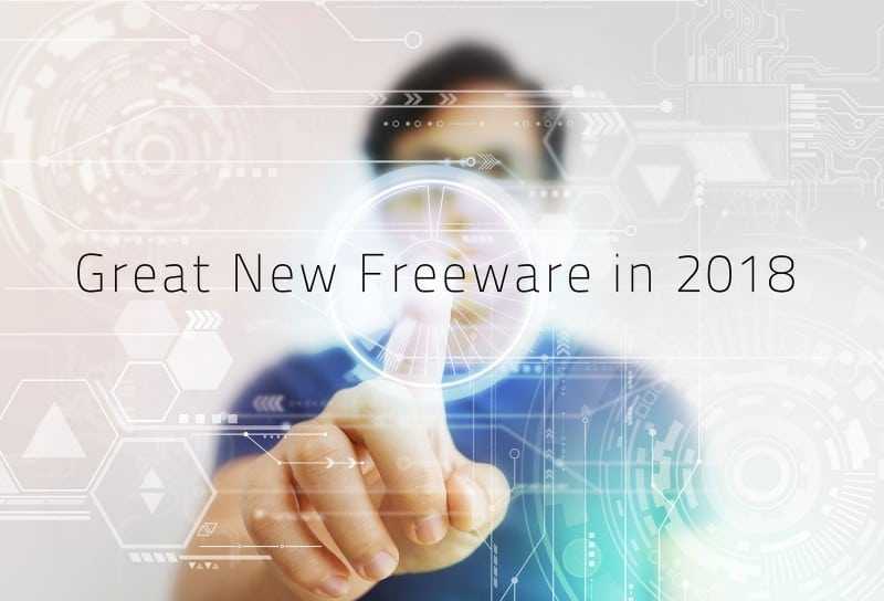 Great New Freeware in 2018