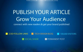 guest post graphic design blog sponsored article