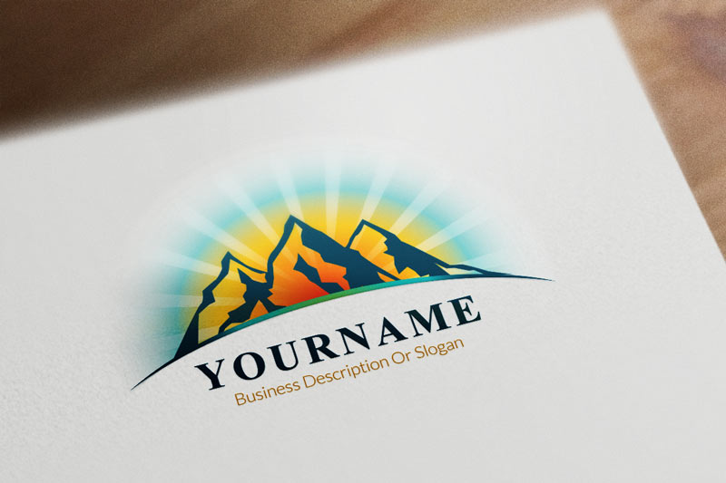 Best mountain logos