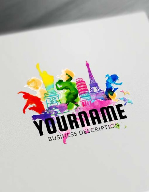 Make a logo with Travel agent logo template and the best logomaker. Design and Download free Logo instantly