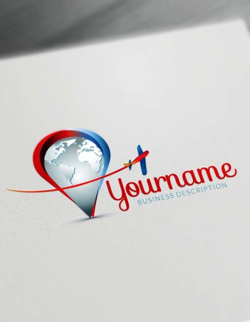 Make a logo with Travel agents logo template and the best logomaker.