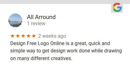 designfreelogoonline GOOGLE REVIEWS