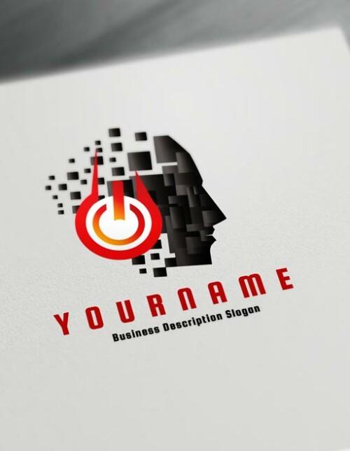Black Music Logo Maker Online Create a Logo D.J logos