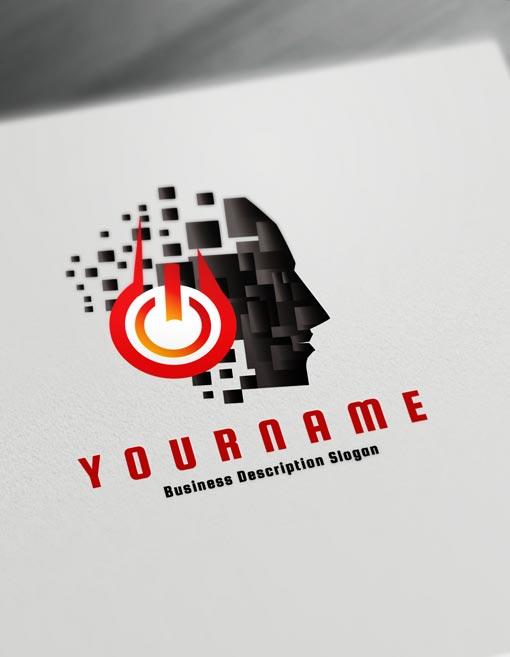 Black Dj Music Logos Maker Online