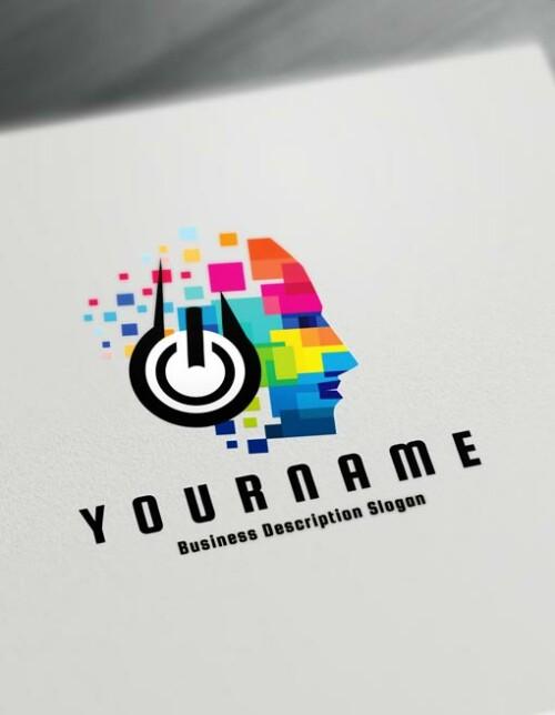 Music Logo Maker Online Create a Logo D.J logos