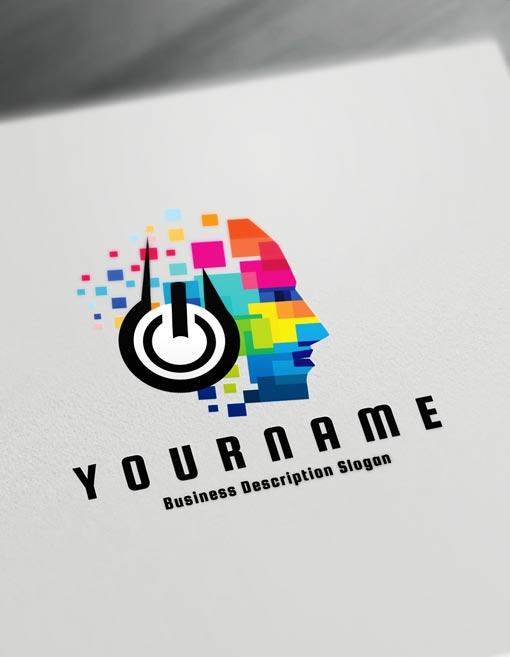 Music Logo Maker Online Create A Logo D J Logos Online Logo Design,Custom Pools By Design