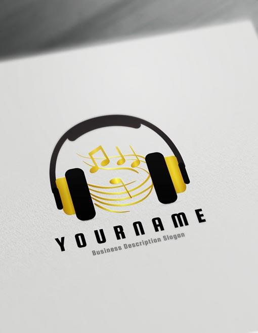 music logo design online create a logo d j logos