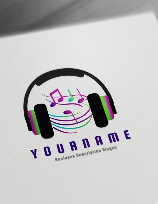 Music Logo Design Online Create a Logo D.J logos - Music Logo Maker Online