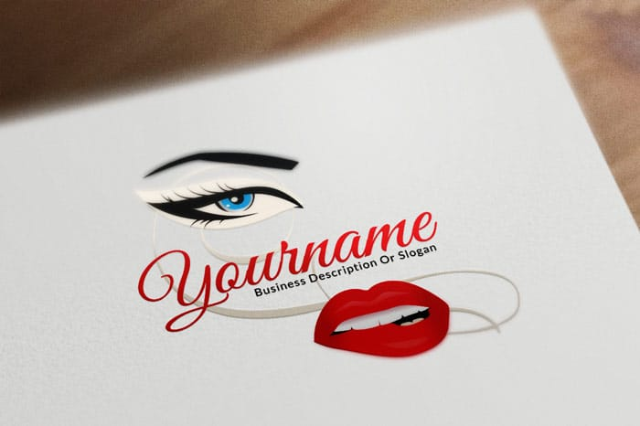 fashion logo beauty logo