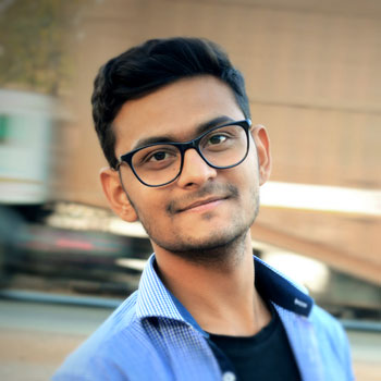 Author Bio Kashyap Trivedi