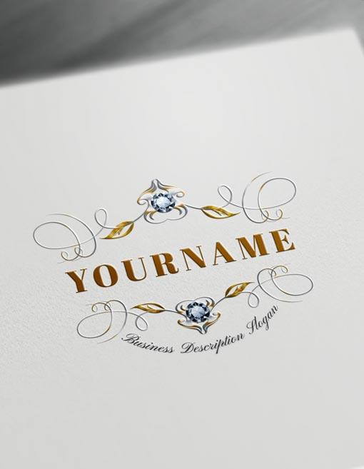 Floral Monogram Maker Design Create Cool Logos Online