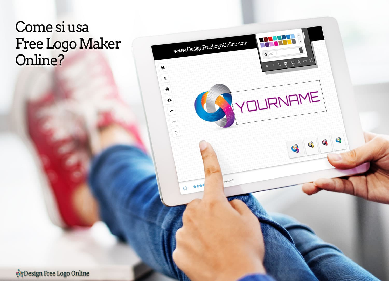 Come si usa Free Logo Maker Online?