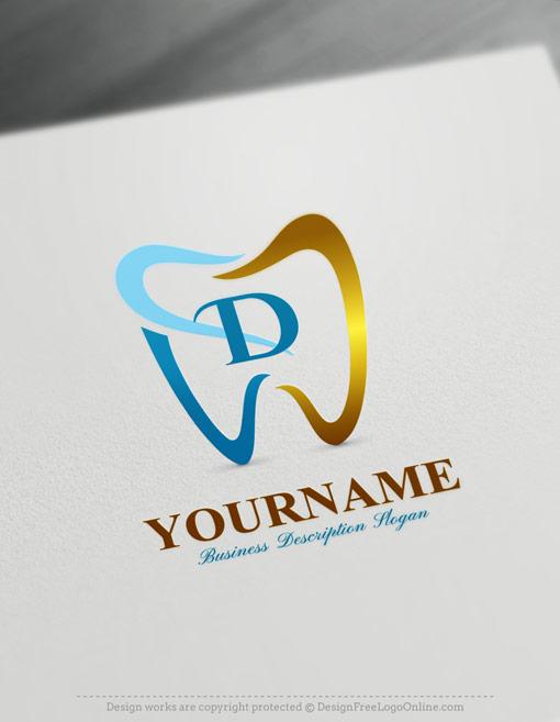 Dentist Logo Design Online - Free Dentistry Logo Maker