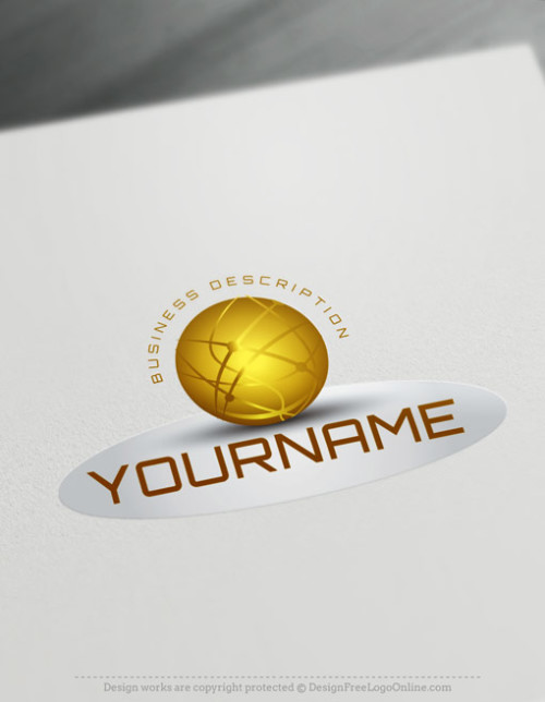 3D Logo Maker and gold 3D Tech Logo Templates