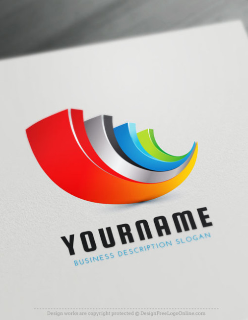 Abstract 3D Logo Maker - Create Cool Logo Ideas online