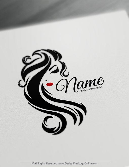 Beauty Logo Maker – free logo design templates – Hair logos