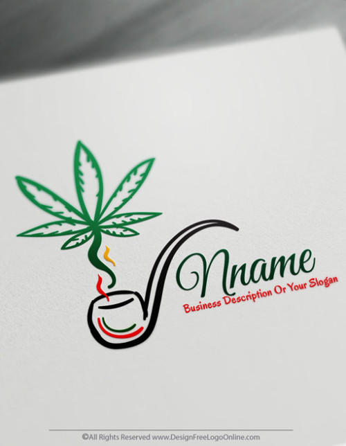 Design Free Cannabis Logo Maker Marijuana Logos