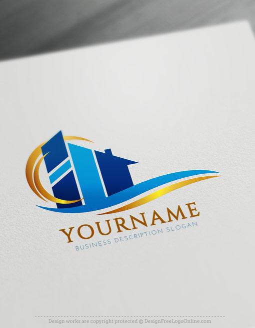 Create Construction Logo ideas with Free Logo Design Templates