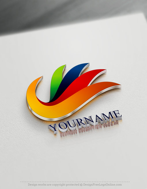 Abstract Logo hand - Create Cool Logo Ideas online