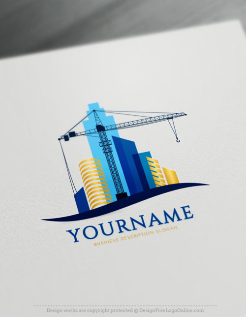 Create Crane Logo Ideas with Free Logo Design Templates