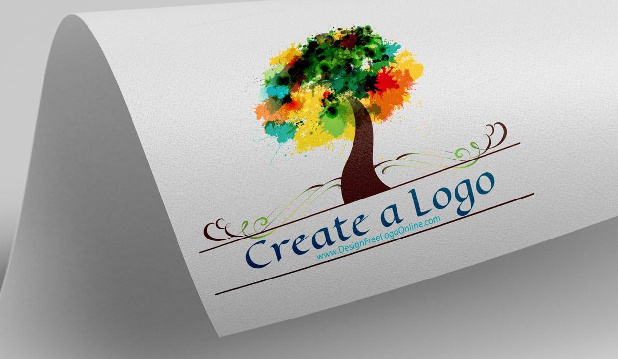 Free Art Logo Maker Tree Logo Design