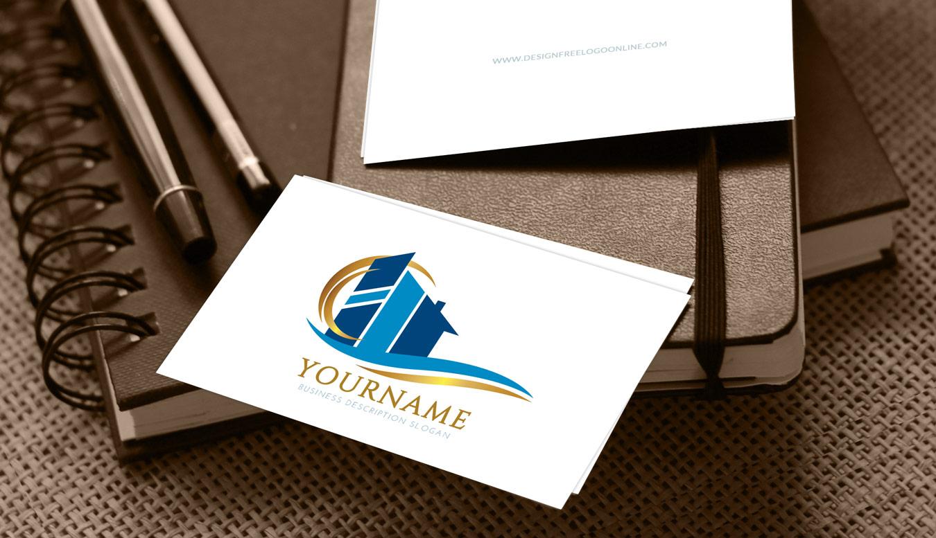 Free Real estate Logo Maker - Construction Logo Design Ideas