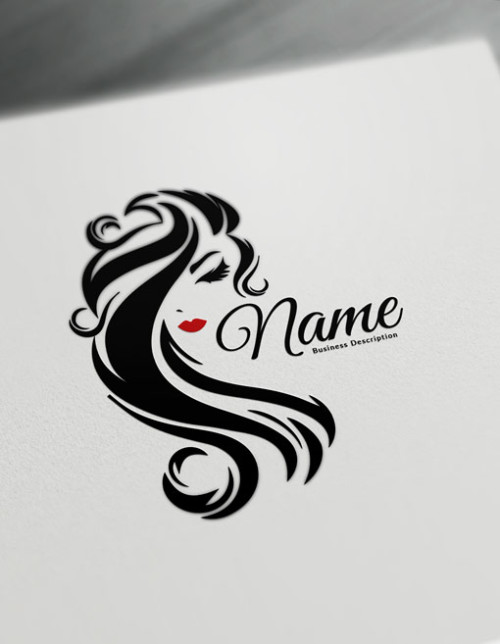 Beauty Logo Maker - free logo design templates - Hair logos