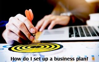 How do I set up a business plan?
