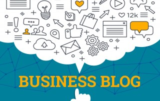 How do I start a business blog for my company?