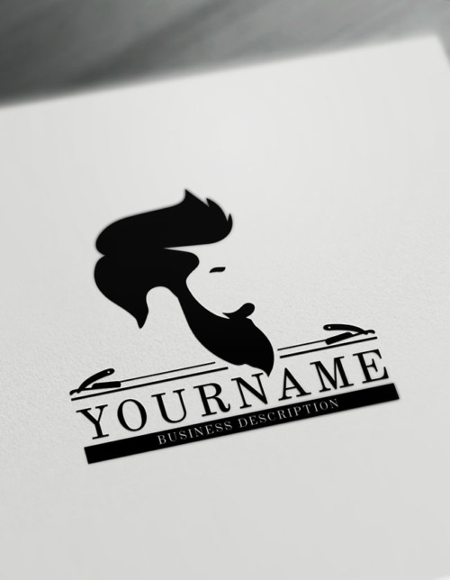 Barber Shop Logo Maker - Create Your Own Cool Barber Logos